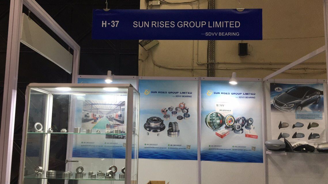 2019 SDVV bearings exhibition in India
