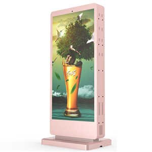 P2.941 outdoor floor standing double face led totems