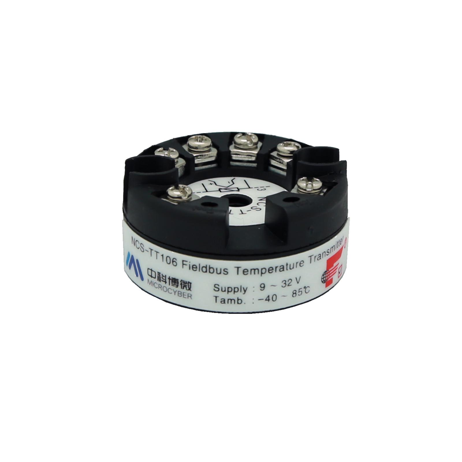 Transmisor de temperatura montado en la cabeza NCS-TT106