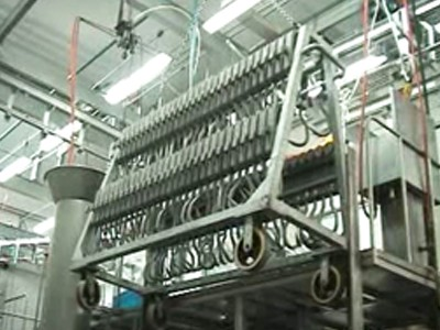 Hoist Machine For Hooks Cart