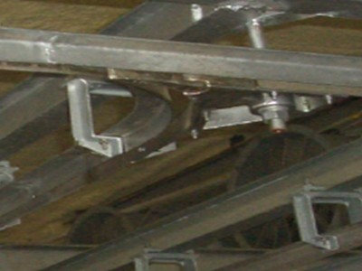 Double rail switch(with blend rail)