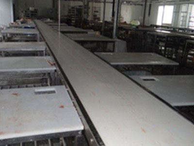 Singe Layer Debonning Conveyor