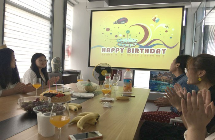 A Birthday Celebration for Osaint Employees
