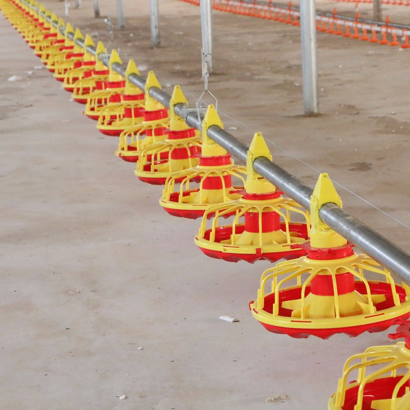 Floor raising broiler equipment ( Deep litter system)or chicken cage for broiler farm?