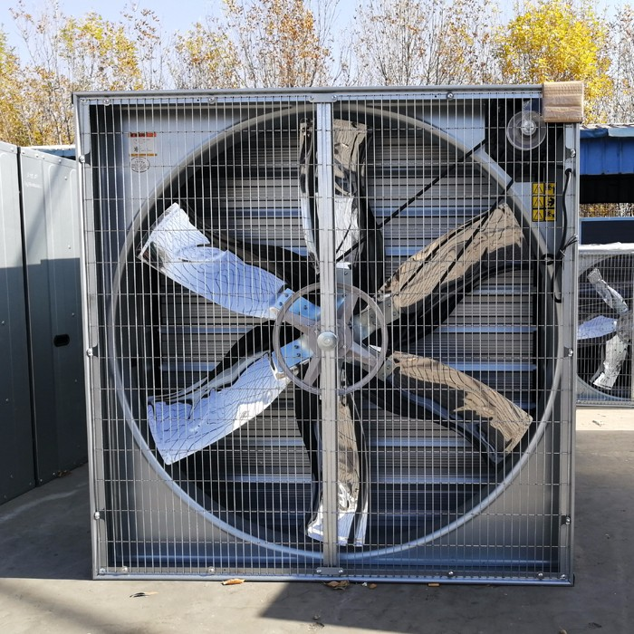 how to caculate max and min exhaust fans in broiler farm ventilation system