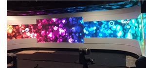 Luxon smurf series in Polan TV studio