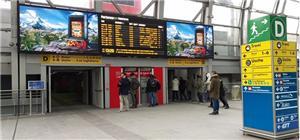Italy subway station