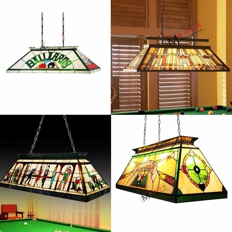 Metal Frame Billiard Lights