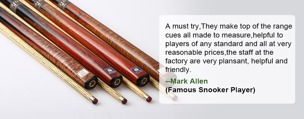 Hand Made Snooker Cues
