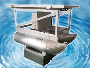Solar remote-control oxygen aeration system