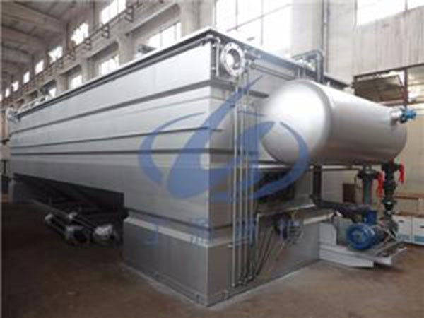 Dissolved Air Flotation for Oil Separator Waste Water Treatment Plant