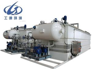 Application of air floater in wastewater treatment