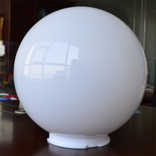 White hollow acrylic spheres