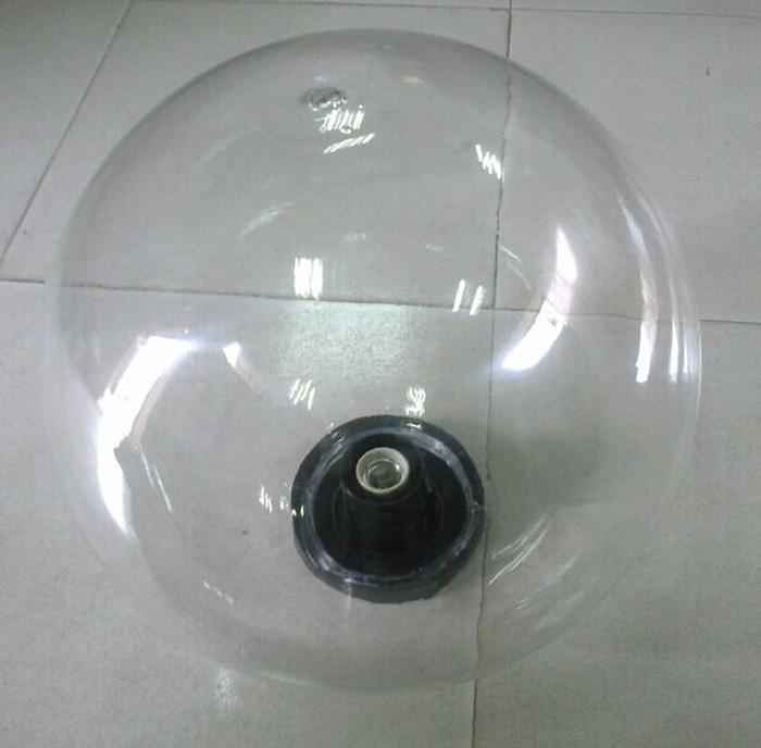 Transparent acrylic sphere