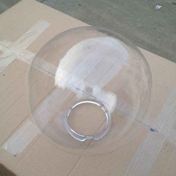 large acrylic sphere