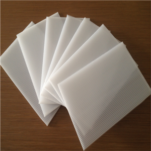 Fire resistant coroplast PP corrugated sheet