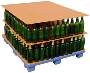 pp corrugated plastic separator sheet bottle layer pad