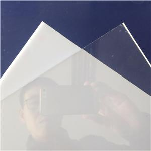 2-10mm thickness clear and white polystyrene sheet