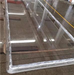 Transparent 100mm 150mm plexiglass panels for swimming pool