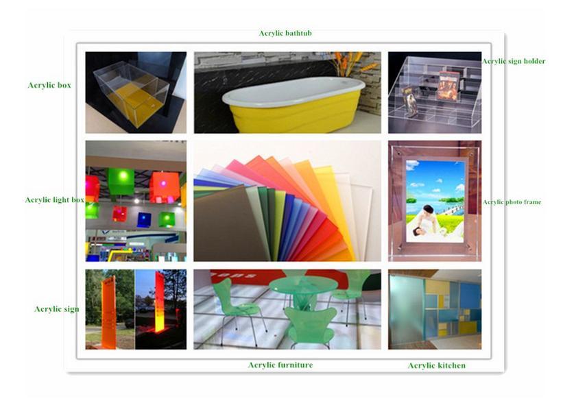 colored acrylic sheet
