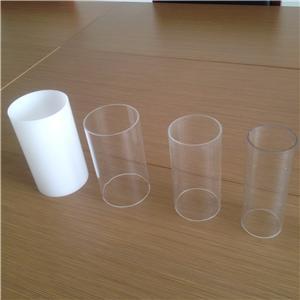opal white Acrylic tube /plexiglass tube /acrylic pipes for lighting
