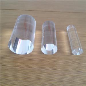 different diameter transparent acryilc rod