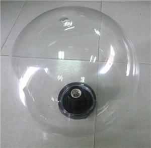 350mm clear acrylic sphere