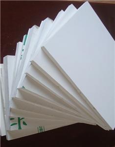 different density white pvc board