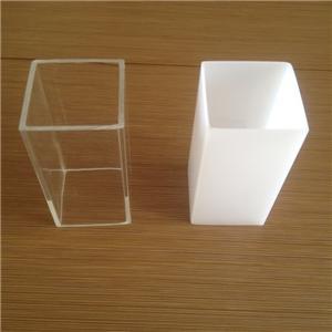 acrylic tube square transparent acrylic tube 50mm diameter