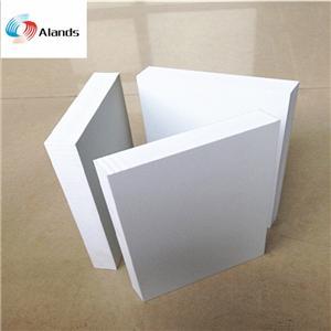 High Density White PVC Foam Board 1220*2440 mm Size extruded pvc foam sheet