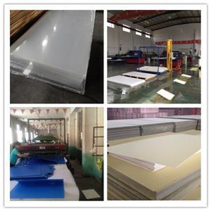 Acrylic sheet, PVC foam Sheet, Coroplast shipped to Central America