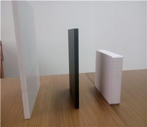 High density White Advertising PVC Foam Board / PVC Sheet Supplier