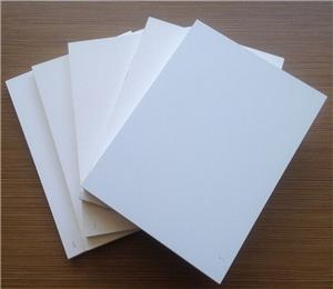white PVC foam board plastic PVC sheet
