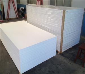 1220x2440mm white PVC foam boards 3mm 5mm thick