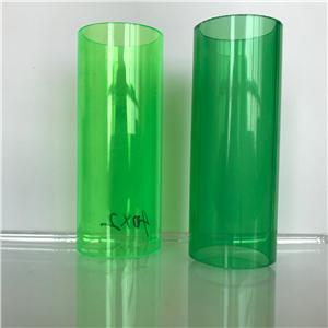 Hot sale clear Acrylic frosted tube