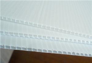 Professional recyclable plastic pp hollow corrugated sheet manufacturer