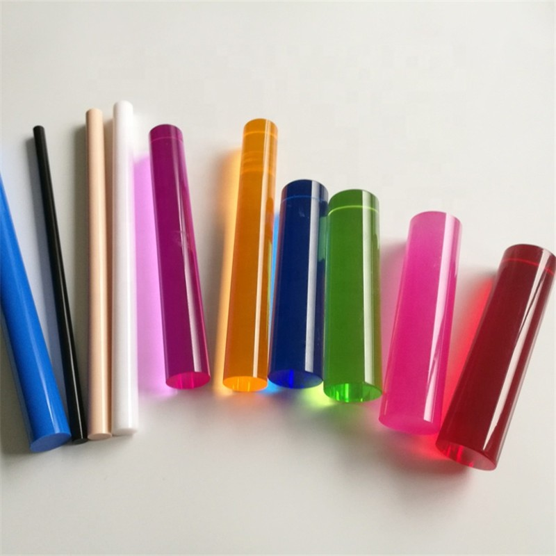 4mm 5mm 6mm 8mm 10mm Clear color Acrylic Rod Plastic Bar Round Rod