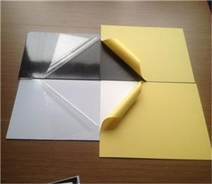 photo album self adhesive PVC inner sheets for photo album