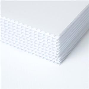Customized PP Hollow Sheet /PP corrugated sheet with Thickness 2mm-12mm