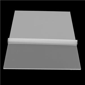 Clear cut to size transparent frosted acrylic coating pmma sheet