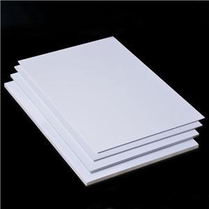 3mm 5mm 6mm thick PVC FOAM SHEET factory price 0.5g/cm3 PVC celuka boards