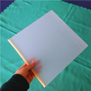 frosted plexiglass sheet/clear frosted acrylic sheet/matt acrylic sheet