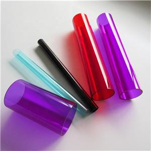 High quality Transparent Custom different size Acrylic Tube Clear Plastic Tube