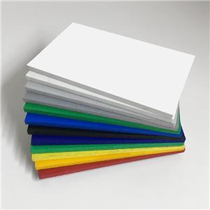 High quality 1220*2440 pvc foam sheet for Cabinets
