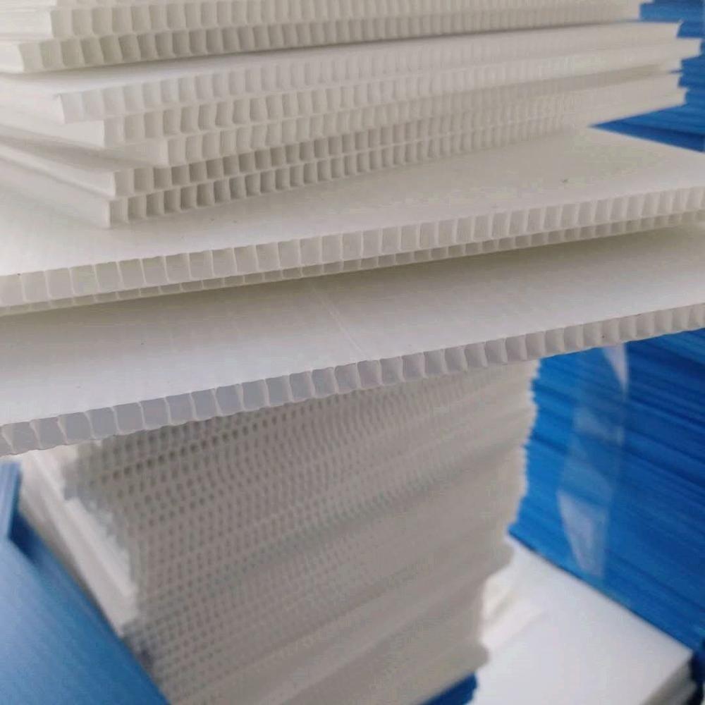 4x8 Corrugated plastic sheet for UV printing