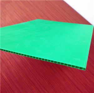 black pp corrugated sheet corflute sheet for floor & wall protection