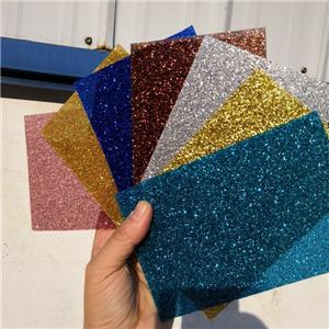 Glitter topped acrylic board 12 sheets pack gold silver pink blue green red white