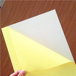 Cold Press self adhesive PVC sheet for photobook
