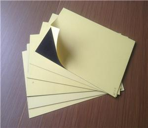 Double side adhesive photobook pvc sheet with high density
