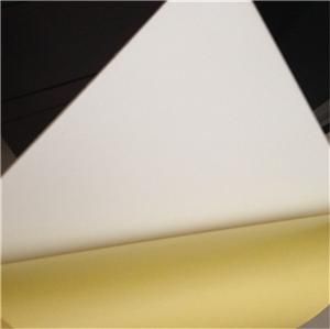White and Black 0.3mm-2mm thickness adhesive pvc photo album sheet